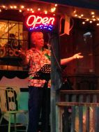 Open Mic night host at Tonya's - Mark Piper