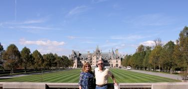 Phil and Jan at Biltmore Estate