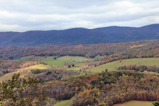 Wytheville scenic oveview