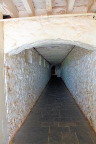 Passageway under Monticello