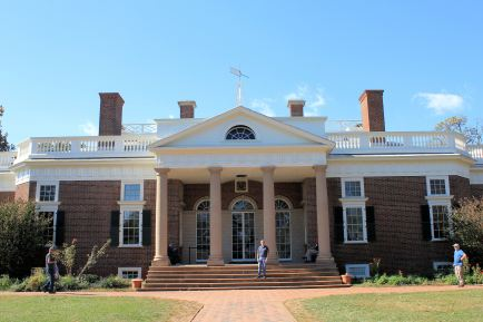 Front of Monticello
