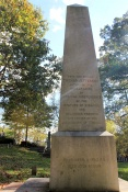 Thomas Jefferson gravestone