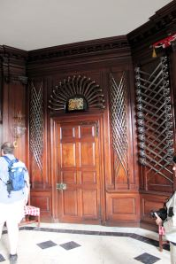 Entry room in Governor's Palace
