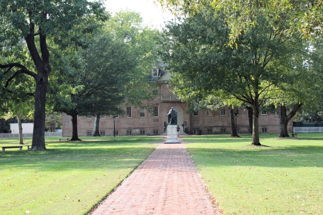 Wren Building on campus of College of William and Mary