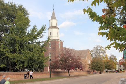 Bruton Parish church