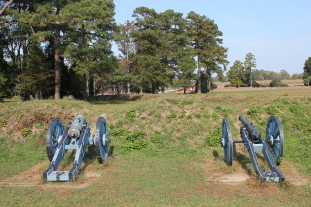 Cannons from First Allied Siege Line