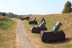 Artillery from Redoubt 9