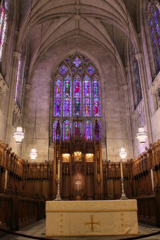 Altar in Duke Chapel