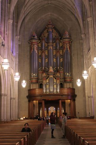 Organ in Duke Chapel