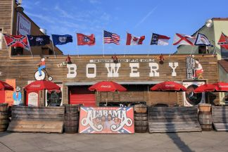The Bowery where the group Alabama got their start