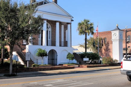 Old Horry County Courthouse (built 1824-18250, now Conway City Hallin 1876