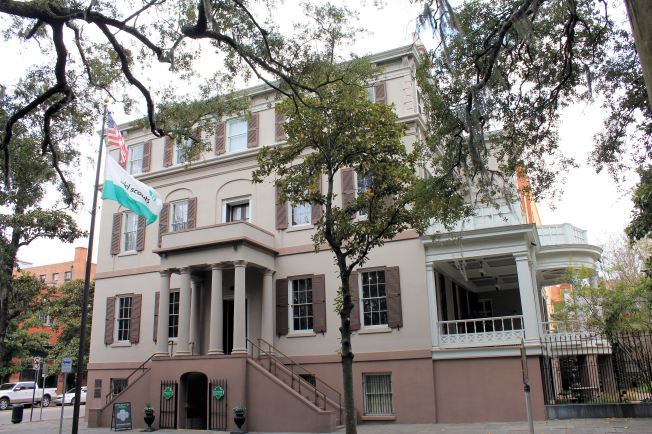 Birthplace of Juliette Gordon Low, founder of the Girl Scouts
