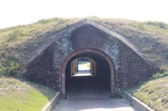 Access Tunnel, doors could be closed at both ends as another level of protection when under attack
