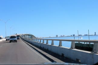 The bridge to South Padre Island