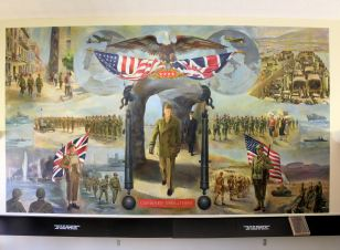 Picture in Eisenhower Museum