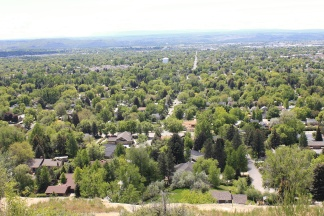 View of Billings from Rim Rock Drive