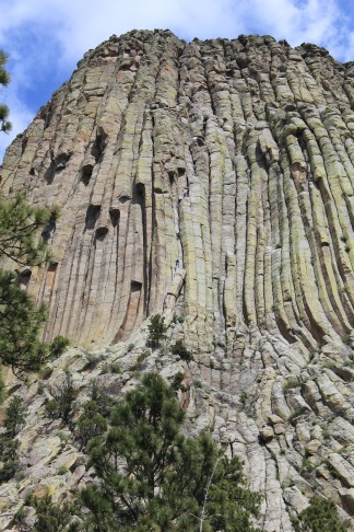 View of Devils Tower from Tower Trail