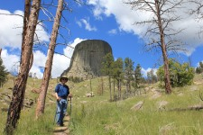 Phil in front of Devils Tower