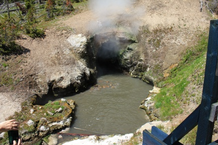 Dargon's Mouth Spring at Mud Volcano