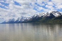 View across Jackson Lake