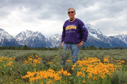 Phil at Mt. Moran