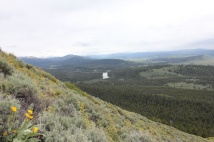 Valley view from Signal Lake Summit