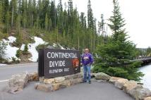 Phil at Continental Divide