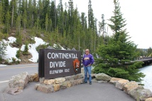 Phil at Continental Divide