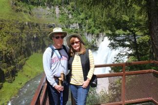 Phil & Jan at Upper Mesa Falls