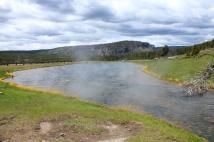 Hot spring at Beryl Spring
