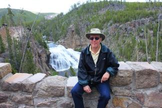 Phil at Gibbon Falls