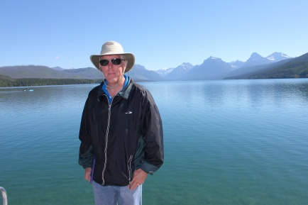 Phil at Lake McDonald
