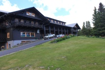 Exterior of Glacier Park Lodge