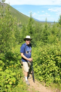 Phil on Forest and Fire Trail