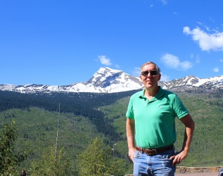 Phil at Heavens Peak