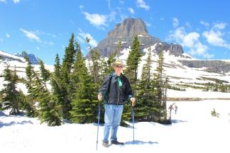 Phil at Logan Pass