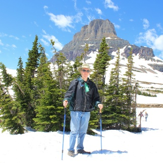 Phil at Logan Pass
