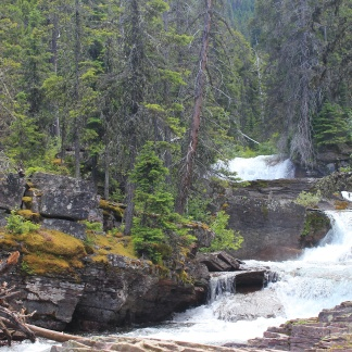 Runoff from Viriginia Falls