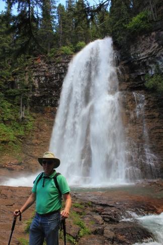 Phil at Virginia Falls