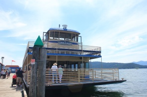 Our cruise boat, The Coeur d'Alene