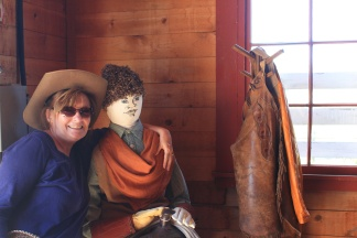 Jan and her cowboy friend