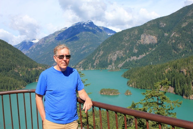 Phil at Diable Lake