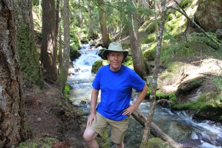 Phil on Happy Creek Nature Trail