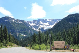 Trailhead for Rainy Lake Trail