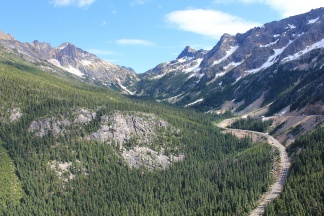 View from Washington Pass Overlook
