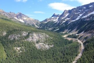 View from Washington Pass Overlook