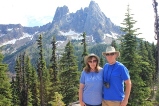 Jan and Phil at Washington Pass