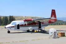 Smokejumping plane