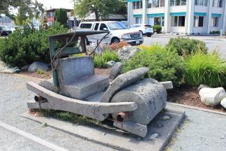 Fred Flintstone's car at Flintstone Park