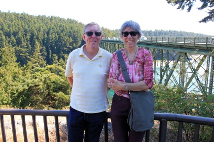 Phil and Joan at Deception Pass